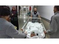 Pencere camını silerken 3. kattan düşen Iraklı kadın ağır yaralandı
