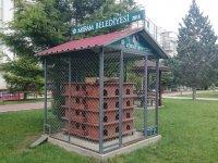 Meram'da hayvanlara beslenme istasyonları