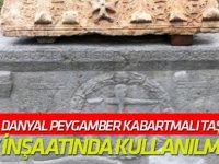 Konya'da Danyal Peygamber kabartmalı taş bulundu!