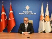 AK Parti Bursa ilçe başkanları belli oldu