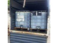 Aydın 'da 2540 litre kaçak akaryakıt ele geçirildi
