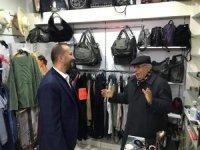 AK Partili Erürker, Yağcılariçi esnafını ziyaret etti