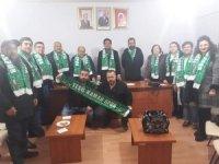 AK Parti teşkilatından Yeşil Kamanspor'a atkı desteği