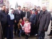 AK Parti'li Takva'dan Özalp ve Saray ilçelerine ziyaret