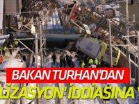 Bakan Turhan'dan 'sinyalizasyon' iddiasına yanıt!