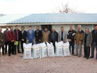 Çiftçilere Macar fiği desteği sağlandı