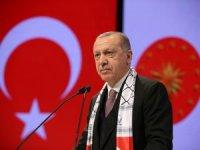 """Cumhurbaşkanı Erdoğan: """"Holokost da, Gazze'ye bomba yağdırmak da insanlık suçudur"""""""