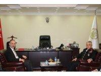 Jandarma Genel Komutanı Çetin'in Kırıkkale ziyareti