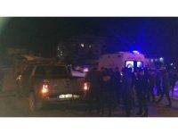 Kamyonetle çarpışan minibüs devrildi: 2 yaralı