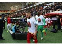Spor Toto Süper Lig: Evkur Yeni Malatyaspor: 2 - Antalayaspor: 0 (İlk yarı)