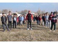 Cilo Dağı eteklerinde sporla büyüyen çocuklar