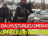 Konya'da Uyuşturucu Operasyonu Şüphelileri Adliyede