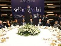 Cumhurbaşkanı Erdoğan 'Selam Vakti Buluşmaları' akşam yemeğine katıldı