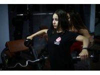 Fitnesste hedefi dünya ve Avrupa şampiyonluğu