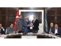 Van TSO yönetiminden Van Büyükşehir Belediyespor'a destek