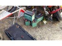 Çaldığı elektrikli bisikleti parçalarken suçüstü yakalanan şahıs tutuklandı
