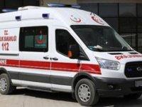 Karapınar'da elektrik akımına kapılan genç yaralandı