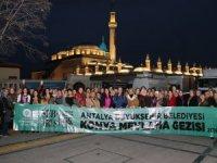 Antalyalılar Şeb-i Arus'u izledi