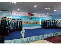 Afganistan'daki TMV Habibe Kadiri Kız Lisesi'nde mezuniyet heyacanı