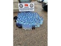 Gaziantep'te 768,5 litre kaçak içi ele geçirildi