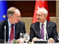 CHP Lideri Kılıçdaroğlu, AB büyükelçileriyle bir araya geldi