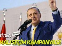 AK Parti'den 3 aşamalı seçim kampanyası!