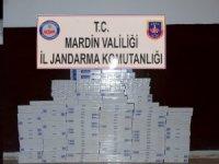 Bin 400 paket kaçak sigara ele geçirildi