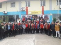 """Mersin'de öğrencilere """"Güveli İnternet ve Siber Suçlar"""" semineri"""