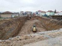 Türkmen Kavşağı yapımı hızlandı
