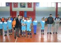 Sason'da öğrenciler futsalla tanıştı