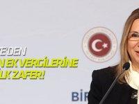 Türkiye'den ABD'nin ek vergilerine karşı ilk zafer!