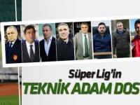 Spor Toto Süper Lig'in teknik adam dosyası