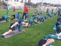 Anadolu Selçukspor'da Antalya kampı başladı