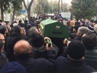 Ahmet Akman'ın babası son yolculuğuna uğurlandı
