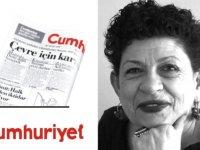 Cumhuriyet yazarı Işıl Özgentürk'ten skandal başörtüsü satırları!