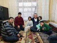 Belediye Başkanı Karahan'ın ev ziyaretleri