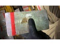 Van'da  bir tırda 133 kilo ele geçirildi
