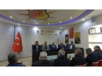 AK Parti Develi İlçe Teşkilatı İstişare Toplantısı Yaptı
