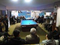 3 bant bilardo il şampiyonası Edremit'te yapıldı