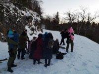 Hırvatistan'da dağda mahsur kalan sığınmacılar kurtarıldı