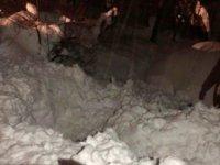 Çatıdan düşen kar kütlesi altında kalan yaşlı kadın hayatını kaybetti