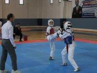 Okullarda Yıldız Taekwondocular Sahne Aldı
