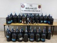 Datça'da kaçak içki operasyonu