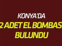 Konya'da Metruk Evde 2 El Bombası Bulundu