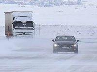 Konya-Aksaray yolu tır ve kamyonlara kapatıldı