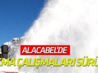 Antalya'da Karla Mücadele Çalışmaları