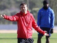 Bülent Korkmaz, antrenmanda Kayserispor maçı taktiklerini verdi