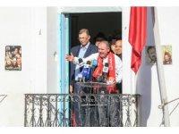 Tunus'ta genel greve giden memurlardan maaş protestosu