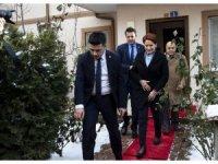 Akşener'den Şenel'in ailesine taziye ziyareti
