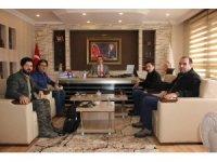 Gazetecilerden Başsavcı Mustafa Balık'a ziyaret